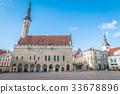 Old Town hall in Tallinn Estonia 33678896