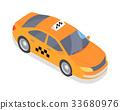taxi, icon, car 33680976