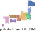 日本地圖 33683969