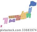 日本地圖 33683974