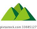 堆 许多 山峰 33685127