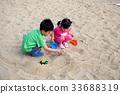 모래놀이,동막해수욕장,강화도,인천 33688319