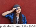 紡紗機 女孩 少女 33691658