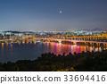 도시, 한국, 밤(시간) 33694416