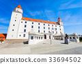 bratislava, castle, slovakia 33694502