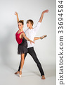 beautiful ballet couple 33694584