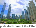 상하이 푸동 고층 빌딩 33694967