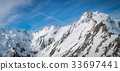 Winter Landscape of Snow Mountain Range 33697441