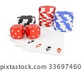 gambling, betting, chip 33697460