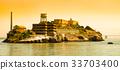 Alcatraz Island with famous prison building, San 33703400