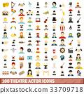 100, theatre, actor 33709718