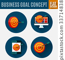 business goal concept 33714838