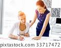 女性 女 办公室 33717472