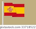 西班牙 旗幟 旗 33718522