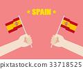 西班牙 旗幟 旗 33718525