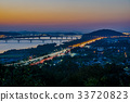 풍경, 도로, 빌딩 33720823