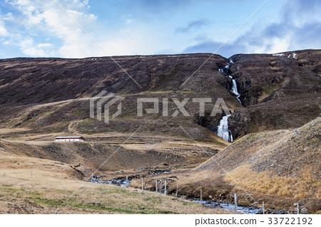 폭포,아이슬란드 33722192