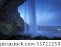 河道 水道 瀑布 33722259