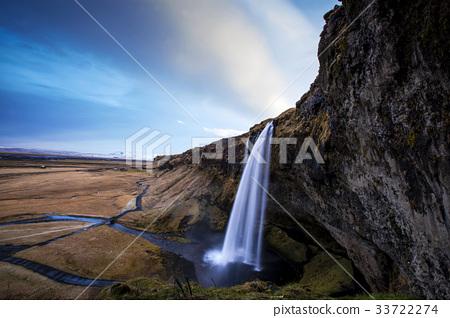 河道 水道 懸崖 33722274