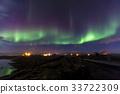 미바튼호수, 아이슬란드, 오로라 33722309