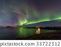미바튼호수, 아이슬란드, 야경 33722312