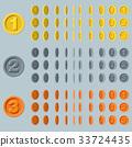 硬币 钱币 框架 33724435