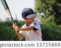 棒球男孩擊球2 33725669