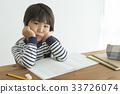 아이, 어린이, 공부 33726074