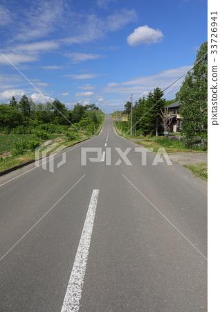 Hokkaido Biei Rollercoaster Road 33726941