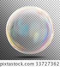 Transparent Soap Bubble Vector 33727362