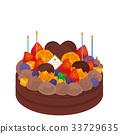 케이크, 양과자, 디저트 33729635