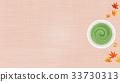 抹茶和楓葉背景(16:9) 33730313