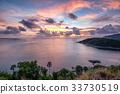 Viewpoint landscape colorful laem promthep cape 33730519