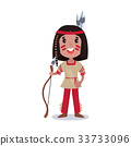 indian, kid, boy 33733096