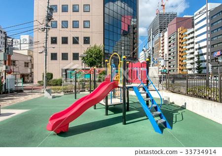 Shiba Daimon 2-chome Children's Amusement Shiba Daimon 2-chome Children's Park 33734914