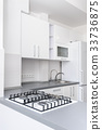 Modern white kitchen 33736875