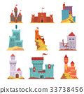 castle tower vector 33738456
