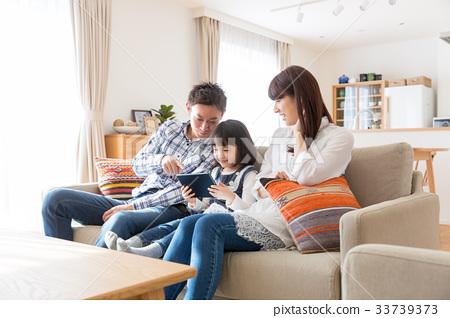 태블릿 가족 33739373