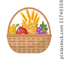 basket, vegetables, fruits 33740359