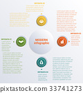 banner, circle, infographic 33741273