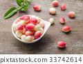 Bengal Currants, Carandas-plum, Carissa carandas 33742614