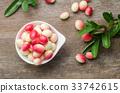 Bengal Currants, Carandas-plum, Carissa carandas 33742615