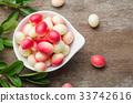 Bengal Currants, Carandas-plum, Carissa carandas 33742616