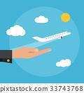 向量 向量圖 飛機 33743768
