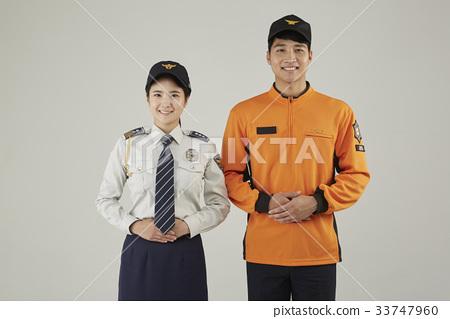 경찰,소방관,직업인 33747960