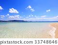 푸른, 하늘, 해변 33748646