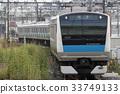e233 series, keihintohoku line, electric train 33749133