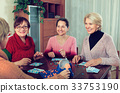 Mature women with table game 33753190