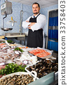 fish, black, apron 33758403