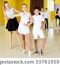 Children studying of partner dance 33761050